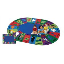 Circletime Dewey Decimal Fun Kids Rug