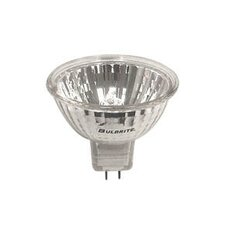 50W Clear Halogen MR16 Bi-Pin Lensed Bulb in Bright White