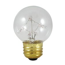 5W Starlight G16 Globe Bulb with Medium E26 Base in Warm White