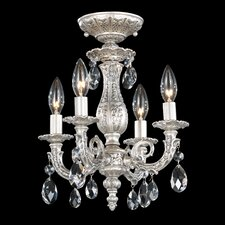 "Milano 11.5"" 4 Light Chandelier"