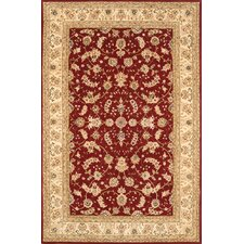 Silk Pearl Red/Beige Rug