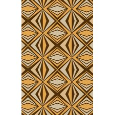 Voyages Golden Rugaisin/Khaki Rug