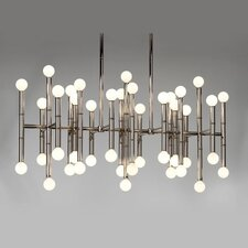 Meurice 42 Light Rectangular Chandelier