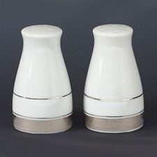 "Crestwood Platinum 3.25"" Salt & Pepper Shaker Set"