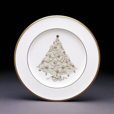 Palace Christmas Gold Holiday Accent Plates (Set of 4)