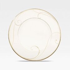Golden Wave Dessert Plate