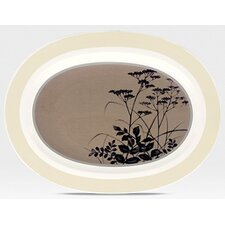"Twilight Meadow 14"" Oval Platter"