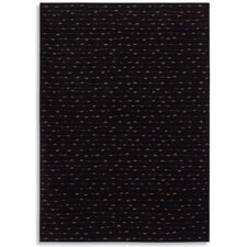 Woven Impressions Beaded Curtain Black Rug