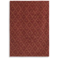 Woven Impressions Diamond Ikat Chili Pepper Rug