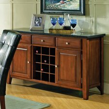 Granite Bello Wine Rack and Server