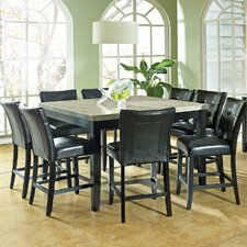 Monarch 9 Piece Counter Height Dining Set