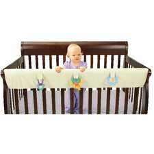 Easy Teether XL Convertible Crib Rail Cover in Ivory