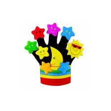 Finger Play Fun Glove Puppets Stars