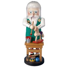 Steinbach North Pole Santa Toymaker Nutcracker