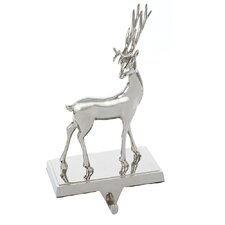 Metal Deer Stocking Holder