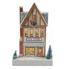 Kringle Lane LED Toy Store Figurine