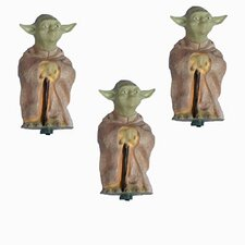 Star Wars 10 Light Yoda Light Set