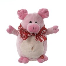 Battery-Operated Musical Animated Pig