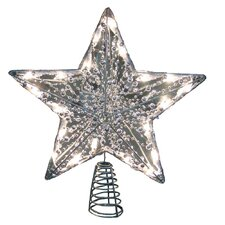 Star Tree Topper with 20 Mini Light