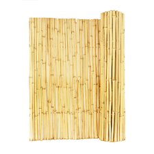 Natural Rolled Bamboo Fence