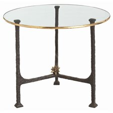 Narnia Iron / Glass End Table