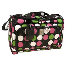 "Multi Dots City 18"" Travel Duffel"