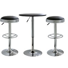 AmeriHome Bar Stool Set