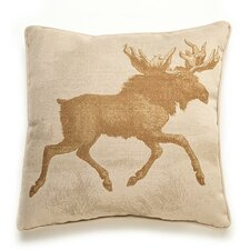 Lava Moose Etching Pillow