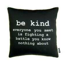 Be Kind Polyester Pillow