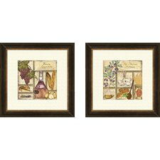 Kitchen Italian Framed Art