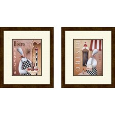 Kitchen Bistro Venezia Framed Art (Set of 2)