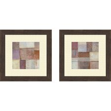 Contemporary Novel Transformation Framed Art (Set of 2)