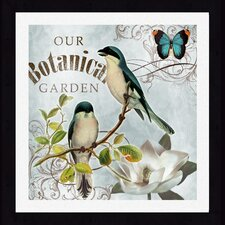 Botanical Garden Framed Wall Art (Set of 2)