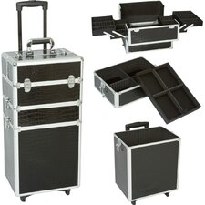 Professional 3-1 Cosmetic Makeup Train Case