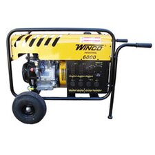 Industrial Series 6,000 Watt Portable Gas Generator