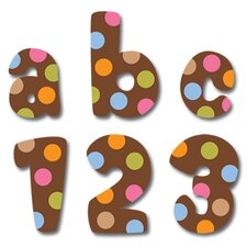 Dots On Chocolate Lowercase Letter