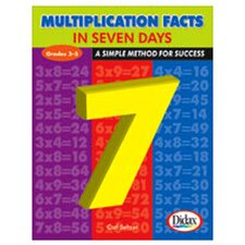 Multiplication Facts In 7 Days