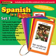 Spanish In A Flash Set 1