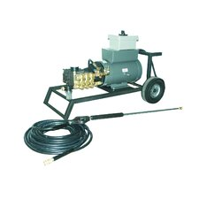 2000 PSI Cold Water Electric Tube Cart Pressure Washer with 10 HP Engine