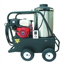 Q Series 3000 PSI Hot Water Gas Pressure Washer with 13 HP Honda Electric Start