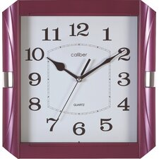 Caliber Glossy Case Wall Clock