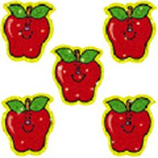 Dazzle Stickers Apples 75-pk Acid