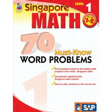 70 Must Know Word Problems Level 1