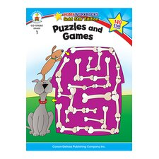 Puzzles & Games Home Workbook Gr 1