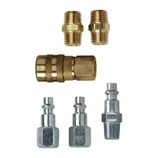 "1/4"" Series Industrial Style Coupler and Plug Set"