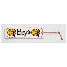 Boys Smiley Face Hall Pass