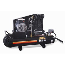 8 Gallon Single Stage Wheelbarrow Air Compressor
