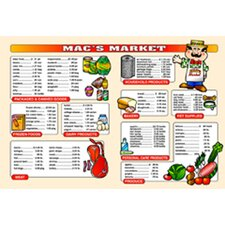 Market Math Extra Price Lists 6