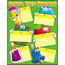 School Time Helpers Friendly Chart
