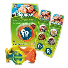 Flipoutz Bracelet with One Coin and Two Additional Coin Pack in Multi